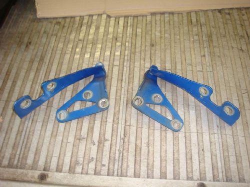 ASTRA MK5 BONNET HINGES IN ARDEN BLUE (pair)